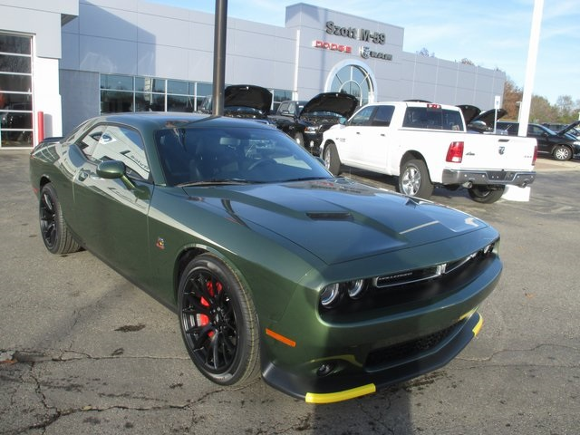 New 2018 Dodge Challenger R/T Scat Pack Coupe in Highland #JH178019 | Szott M59 Dodge Ram